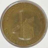 0287 - 2 EURO - FONTVIEILLE - 1998 - Euros Of The Cities