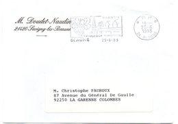 VIGNE & VIN = 21 BEAUNE 1993 = FLAMME PP SECAP Illustrée ' Carrefour Européen ' - Postmark Collection (Covers)