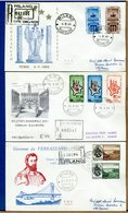 ITALIA - FDC 1964 - RACCOMANDATA CON TIMBRO DI ARRIVO - EX COMBATTENTI - STATI GENERALI - VERRAZZANO - 6. 1946-.. Repubblica