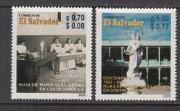 2003 El Salvador Lady Of Help Christians Complete Set Of 2 MNH - El Salvador