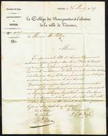 Lettre Datée Du 26 Mars 1849, Envoyée De VERVIERS Vers ELLE (?) - 1830-1849 (Belgique Indépendante)