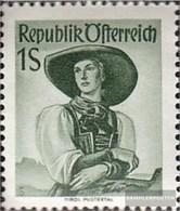 Austria 912xc Netzriffelung Unmounted Mint / Never Hinged 1948 Costume Series - 1945-60 Unused Stamps
