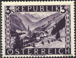 Austria 852 Unmounted Mint / Never Hinged 1947 Landscapes - 1945-60 Unused Stamps
