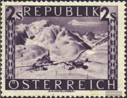 Austria 851 Unmounted Mint / Never Hinged 1947 Landscapes - 1945-60 Unused Stamps