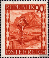 Austria 849 Unmounted Mint / Never Hinged 1947 Landscapes - 1945-60 Unused Stamps
