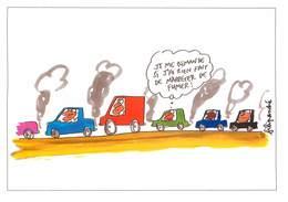 Illustrateurs - IIlustrateur Filipandre - Enghien Les Bains - Voitures - Automobile - Planète Terre - Filipandre
