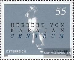 Österreich 2507b (completa Edizione) Luminoso Colore MNH 2005 Karajan - 1945-.... 2nd Republic