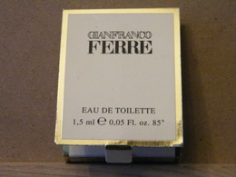 MONDOSORPRESA, MIGNON PROFUMI, FIALETTA, UOMO, GIANFRANCO FERRE - Perfume Samples (testers)