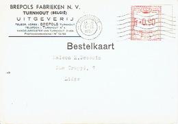 PK Publicitaire TURNHOUT 1952 - BREPOLS FABRIEKEN - Uitgeverij - Turnhout
