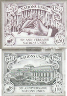 UN - Geneva 269B-270B (complete Issue) Unmounted Mint / Never Hinged 1995 50 Years UN - Geneva - United Nations Office