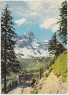 Bischofsmutze, Von Der Aualm, Salzburg, Austria, 1961 Used Postcard [21882] - Austria