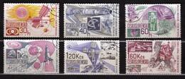 Czechoslovakia 1967 Mi 1688-1693 CTO - Tschechoslowakei/CSSR