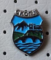 SKOPJE Skoplje Coat Of Arms Macedonia Ex Yugoslavia Pin - Cities