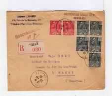 Sur Enveloppe Timbres Exposition Coloniale 1931. Recomandé. CAD Tullé 1930. (685) - Marcophilie (Lettres)