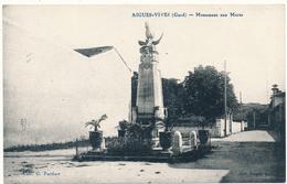 AIGUES VIVES - Monument Aux Morts - Aigues-Vives