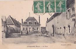 Carte 1915 LONGUEVAL / LA PLACE - France