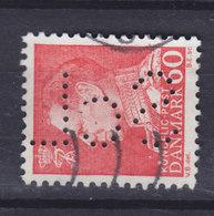 Denmark Perfin Perforé Lochung (S15) 'ScL' Statens Civile Luftværn København King Fr. IX. Stamp (2 Scans) - Abarten Und Kuriositäten