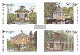 Sweden 2356-2359 (complete.issue.) Fine Used / Cancelled 2003 Gartenhäuser - Sweden
