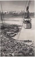 Bregenz A.B. Ptanderbahn G.Santis, Austria, 1953 Used Real Photo Postcard [21888] - Bregenz