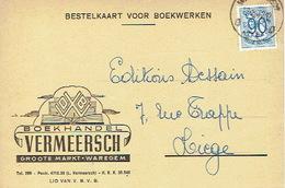 PK Publicitaire WAREGEM 1952 - VERMEERSCH - Boekhandel - Waregem