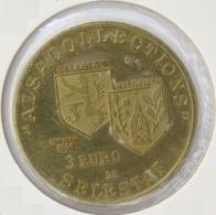 0308 - 3 EURO - SELESTAT - 1996 - Euros Of The Cities