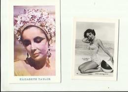 -*2 X  ACTRICE       ** -ELIZABETH  TAYLOR       - - Photographs