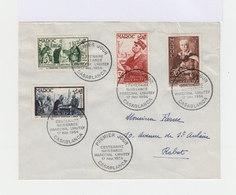 Enveloppe Premier Jour Casablanca. Série Maréchal Lyautey FDC. (686) - Maroc (1891-1956)