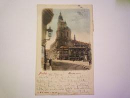 TCHEQUIE  -  PRAHA  :  RADECKEHO  NAMESTI  -  Carte Couleur  1901   - Czech Republic