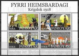 Faroer/Faroe/Féroé: Scene Del Conflitto, Scenes Of The Conflict, Scènes Du Conflit - Prima Guerra Mondiale