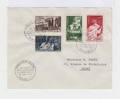 Enveloppe Premier Jour Rabat Série Campagne De Solidarité Franco Marocaine. (687) - Maroc (1891-1956)