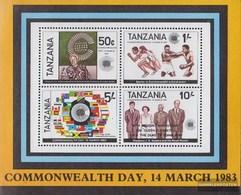 Tansania Block 72 (completa Edizione) MNH 1988 Rosso Cross - Tansania (1964-...)