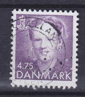 Denmark Perfin Perforé Lochung (Fig04a) 'ww' Københavns Kommune, København Margrethe II. Stamp (Cz. Slania) (2 Scans) - Abarten Und Kuriositäten