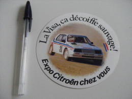 Autocollant - Automobiles - CITROEN VISA Rallye - Stickers