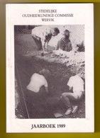 WERVIK JAARBOEK 1989 230pp ©1989 STEDELIJKE OUDHEIDKUNDIGE COMMISSIE Heemkunde Geschiedenis WERVICQ Z717 - Wervik