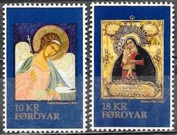Faroer/Faroe/Féroé: Icone Di Natale, Christmas Icons, Icônes De Noël - Natale