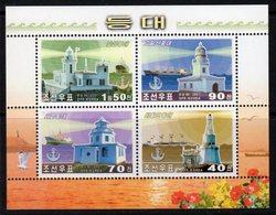 DPR Korea (North) 2001 Lighthouse MS, MNH, Ref. 43 - Lighthouses