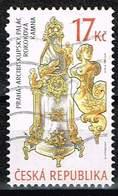 Tschechien 2008, Michel# 576 O Historic Stove: Rococo Style - Czech Republic
