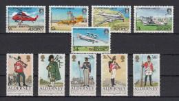 Alderney Nuovi: 1985 Annata Completa - Alderney