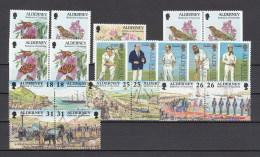 Alderney Nuovi: 1997 Annata Completa - Alderney