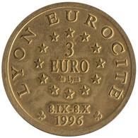 0315 - 3 EURO - LYON - FOURVIERE - 1996 - Euros Of The Cities