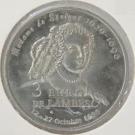 0318 - 3 EURO - LAMBESC - 1996 - Euros Of The Cities