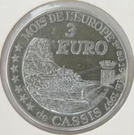 0325 - 3 EURO - CASSIS - 1997 - Euros De Las Ciudades