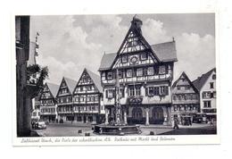 7432 BAD URACH, Rathaus, Markt Und Brunnen, 1954 - Bad Urach