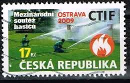 Tschechien 2009, Michel# 601 O International Fire Brigades Competitions CTIF, OSTRAVA 2009 - Usados