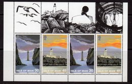 Isle Of Man 1996 Lighthouses 30/41p Booklet Pane, MNH, Ref. 48 - Lighthouses