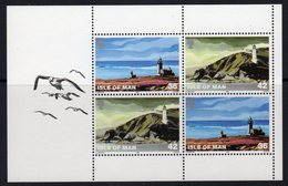 Isle Of Man 1996 Lighthouses 36/42p Booklet Pane, MNH, Ref. 49 - Lighthouses