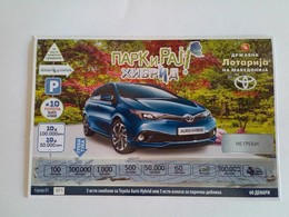 Lottery Of Macedonia - Lottery Tickets