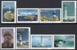 Antigua & Barbuda 1998 Lighthouses Set Of 8, MNH, SG 2612/9, Ref. 50 - Lighthouses