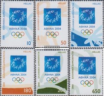 Greece 2046-2051 (complete Issue) Unmounted Mint / Never Hinged 2000 Olympics Summer - Unused Stamps