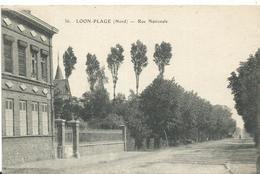 59 Loon Plage  Rue National Animée - Other Municipalities